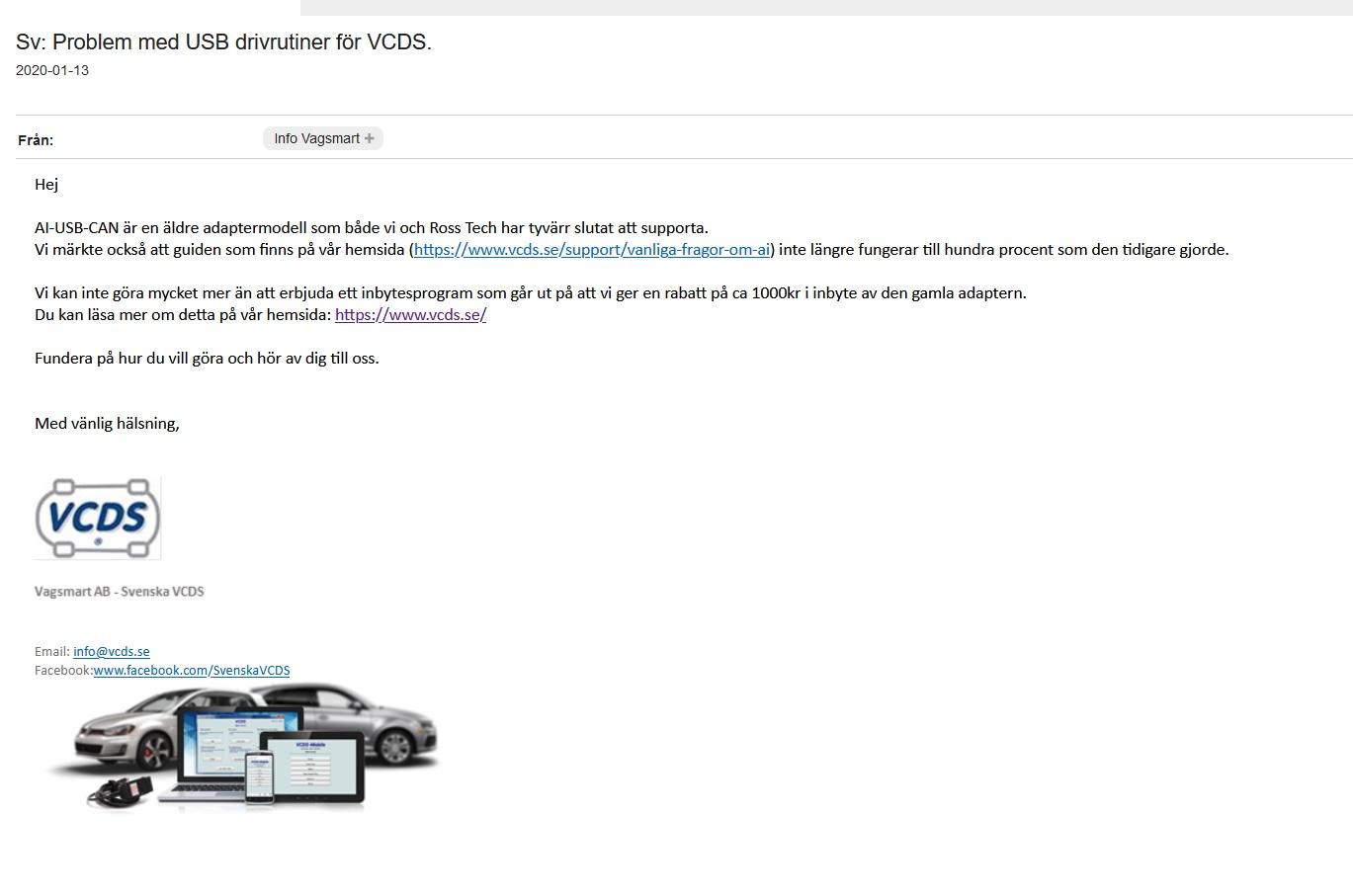 Namn:  VCDS svar på problem.jpg Visningar: 362 Storlek:  135.8 KB